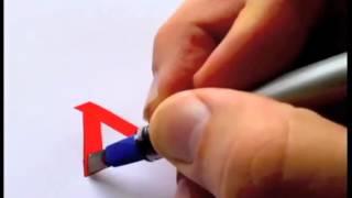 Парень круто рисует логотипы известных брендов [Часть 1](, 2015-07-30T12:37:52.000Z)