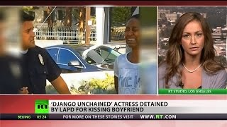Video Did the LAPD profile African-American actress Daniele Watts as a prostitute? download MP3, 3GP, MP4, WEBM, AVI, FLV Oktober 2017