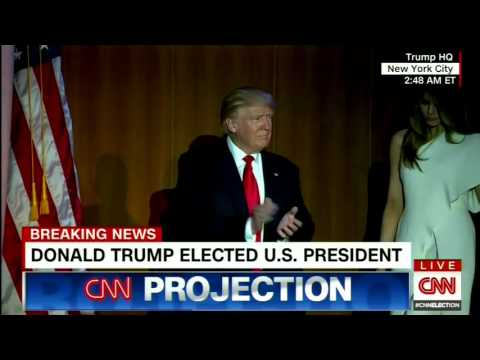 CNN Projection: Donald Trump to Become 45th President of the United States