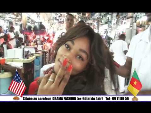 obama fashion show cameroun