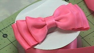 Pleasure to make this cute bow! Enjoy and Learn Fun and Ease Tutori...