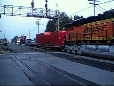 World's Biggest Train Car! 36 Axles! Galva, IL 08/29/2010
