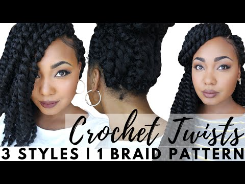 Senegalese Crochet Twists: Easy Braid Pattern For Natural & Versatile Protective Styling