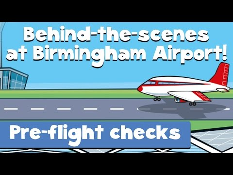 Pre-flight Checks (Behind The Scenes At The Airport: Episode 1)