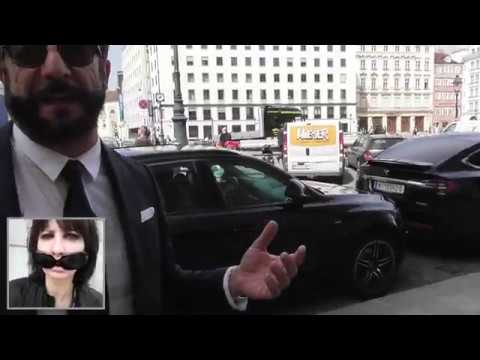 Vienna Graben - Boutiques overview with Mauro Maloberti Video Blog by Simona Cochi