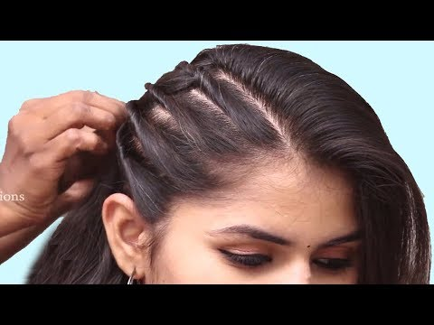 New latest party hairstyle ideas 2019 | Simple hairstyle | ladies hairstyle 2019 | hairstyle thumbnail
