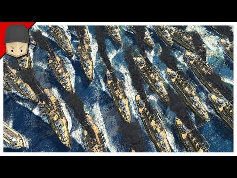 ANNO 1800 - Ep.15 : THE FINAL BATTLE! HUGE FLEET! (ANNO 1800 Gameplay)