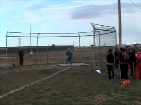 Frenship Middle School Discus 4-18-2009 @ Randall