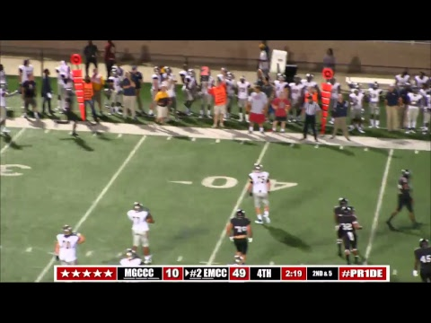 #2 EMCC Football vs Gulf Coast - Full Game