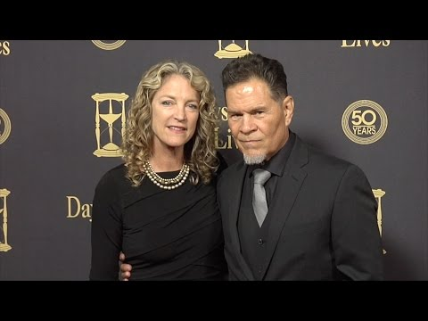 A Martinez & Leslie Bryans Red Carpet Style at Days of Our Lives 50 Anniversary Party