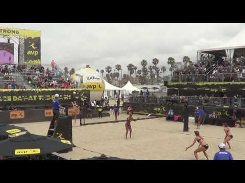 AVP Huntington: #6 Flint/Larsen vs #3 Ross/Pavlik (5/6/17)