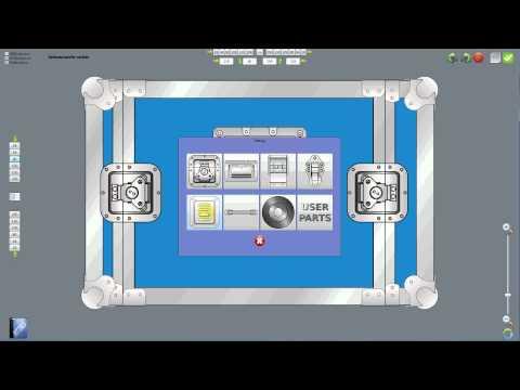 Flightcase Construction With The Penn Elcom Casedesigner English Mp4 Youtube