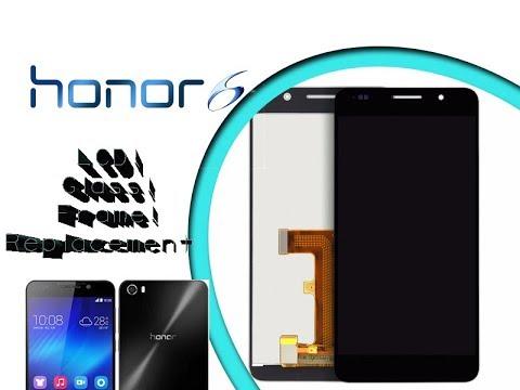Huawei Honor 6 LCD & Digitizer Frame Full set Replacement / Wytmiana  wyświetlacza   Selekt