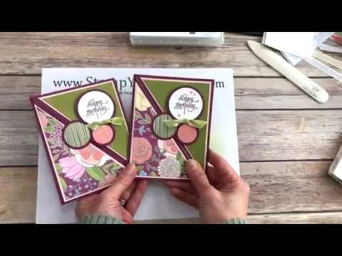 Stamp Your Art Out with Rachel: Right Angle Fold-Over Card