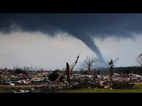 Tornados Hit Mayflower Tupelo Denver Alabama Oklahoma
