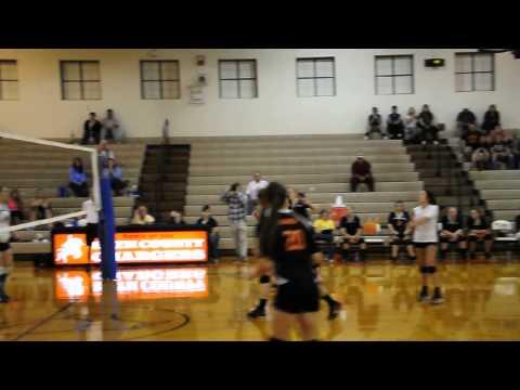 Bath County High School-Pendleton County High School Volleyball - 9-23-13