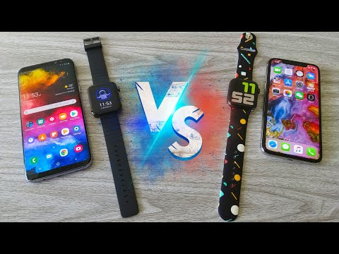 Xiaomi Mi Watch VS Apple Watch 5 - Comparison