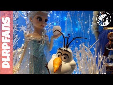 Atmosphere and Shopping at Disneyland Hotel Christmas 2015 Disneyland Paris