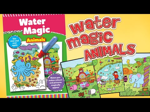 Galt Toys Water Magic Animals