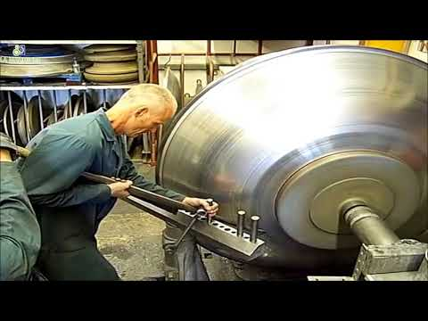 Fast Extreme Big Metal Spinning Process Working, Amazing CNC Metal Spinning Machine