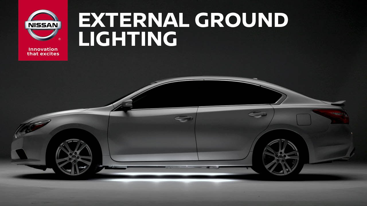 External Ground Lighting | Genuine Nissan Accessories ...