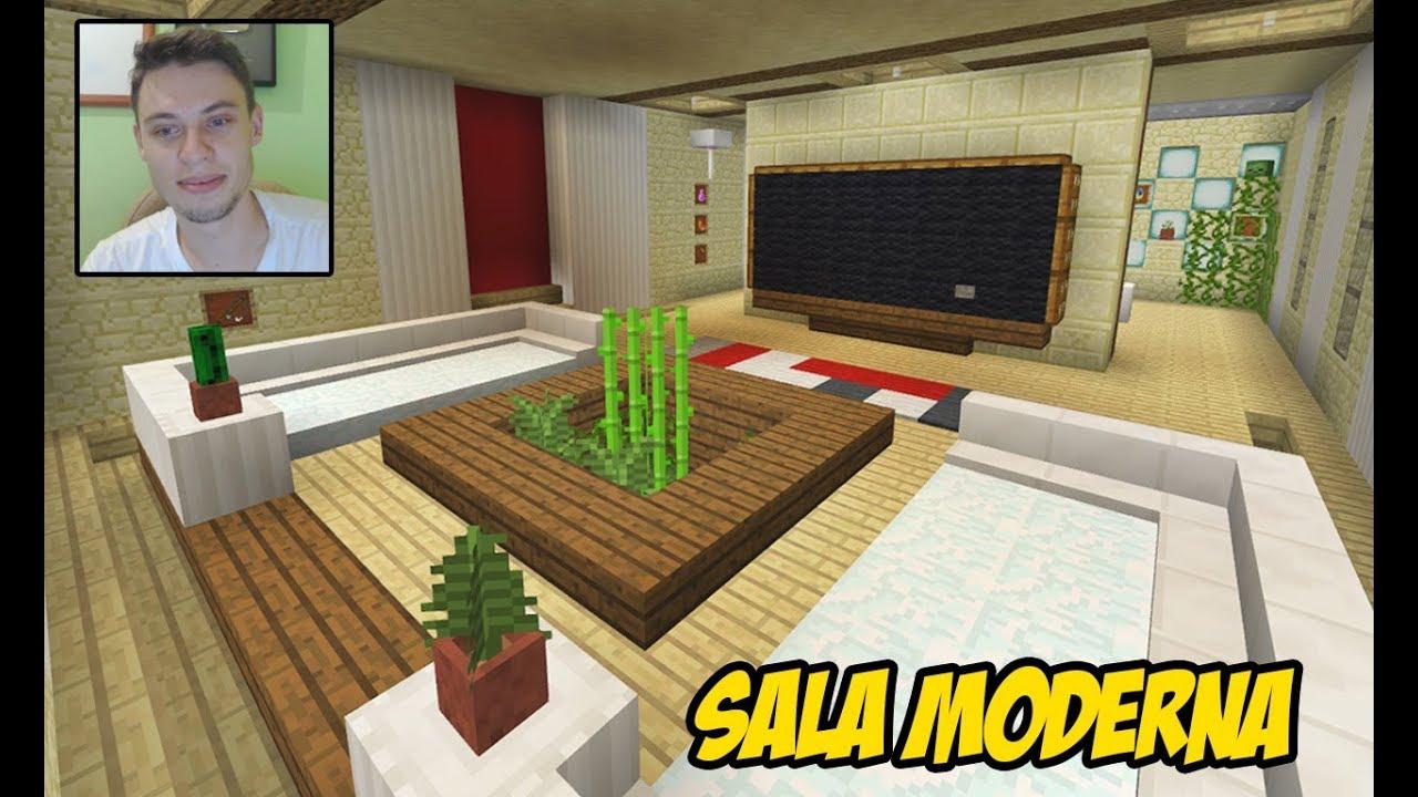 Foto Sala Moderna.Minecraft Tutorial Sala Moderna Grande E Bonita
