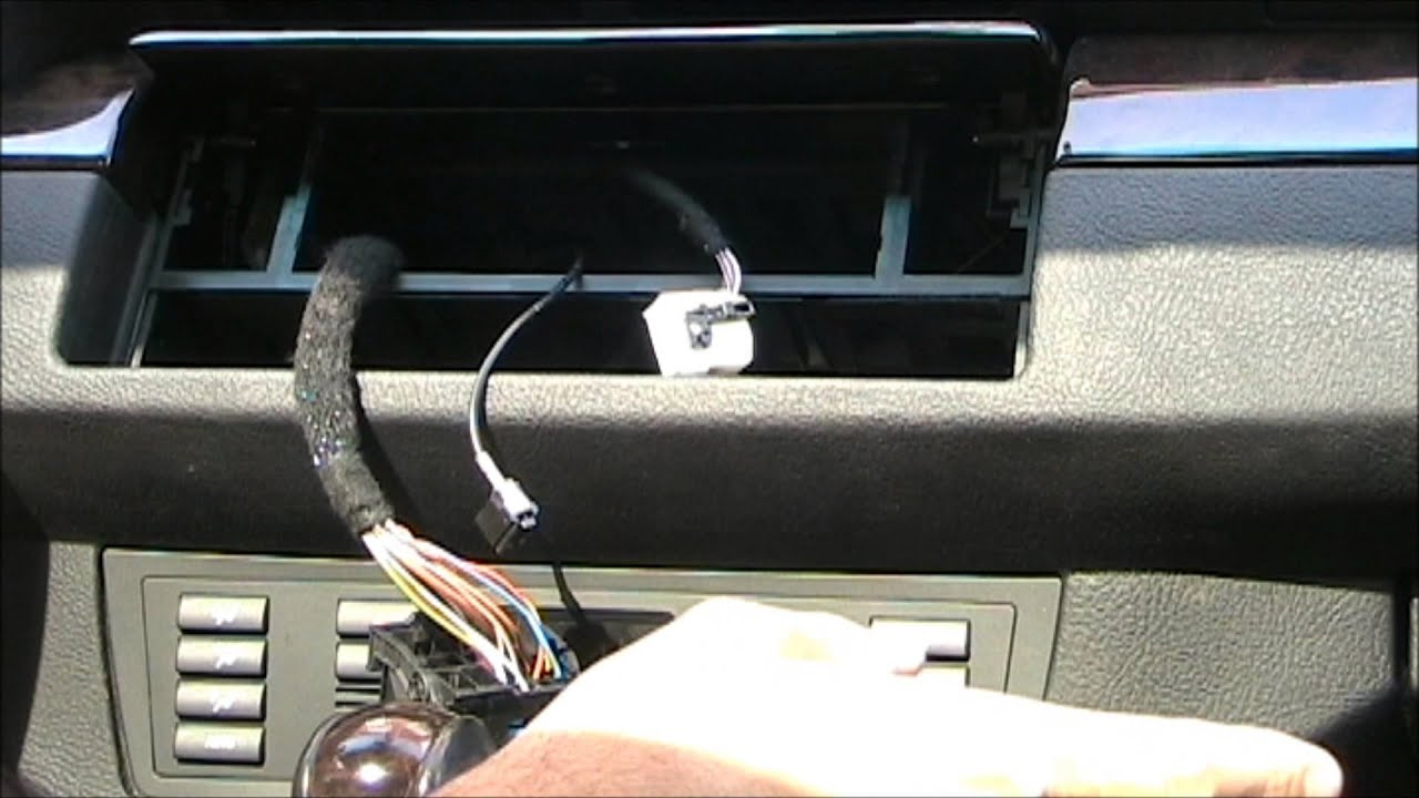 maxresdefault bmw e53 x5 w dsp aftermarket stereo system installation and 2004 bmw x5 radio wiring diagram at soozxer.org