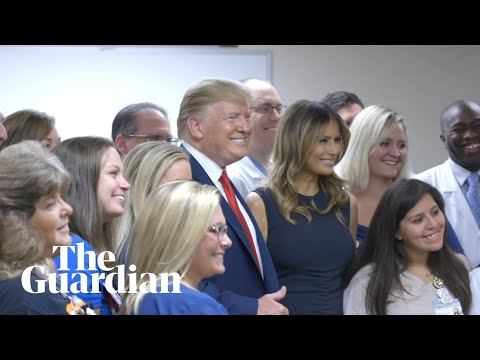 Trump turns El Paso visit into campaign ad and boasts about rally numbers