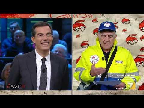 Gene Gnocchi, la posta di diMartedì: le lettere a Floris del 19 dicembre
