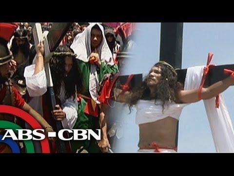 Good Friday crucifixion rites in Pampanga