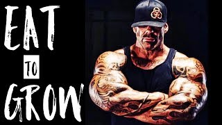 BIGGER BY THE DAY - EATING LIKE A BODYBUILDER