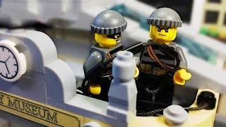 Лего ОГРАБЛЕНИЕ МУЗЕЯ / Лего мультфильм / Лего полиция  / lego city 60008