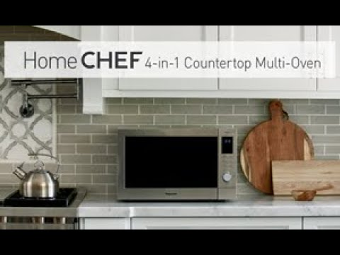 Panasonic Home CHEF 4-in-1 Countertop Multi-Oven model NN-CD87KS