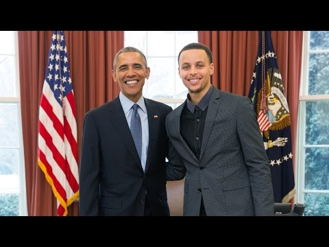 Steph's White House Visit