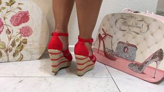 Shoe Collections - high heels and Stylish, Beautiful, Unique Wedges