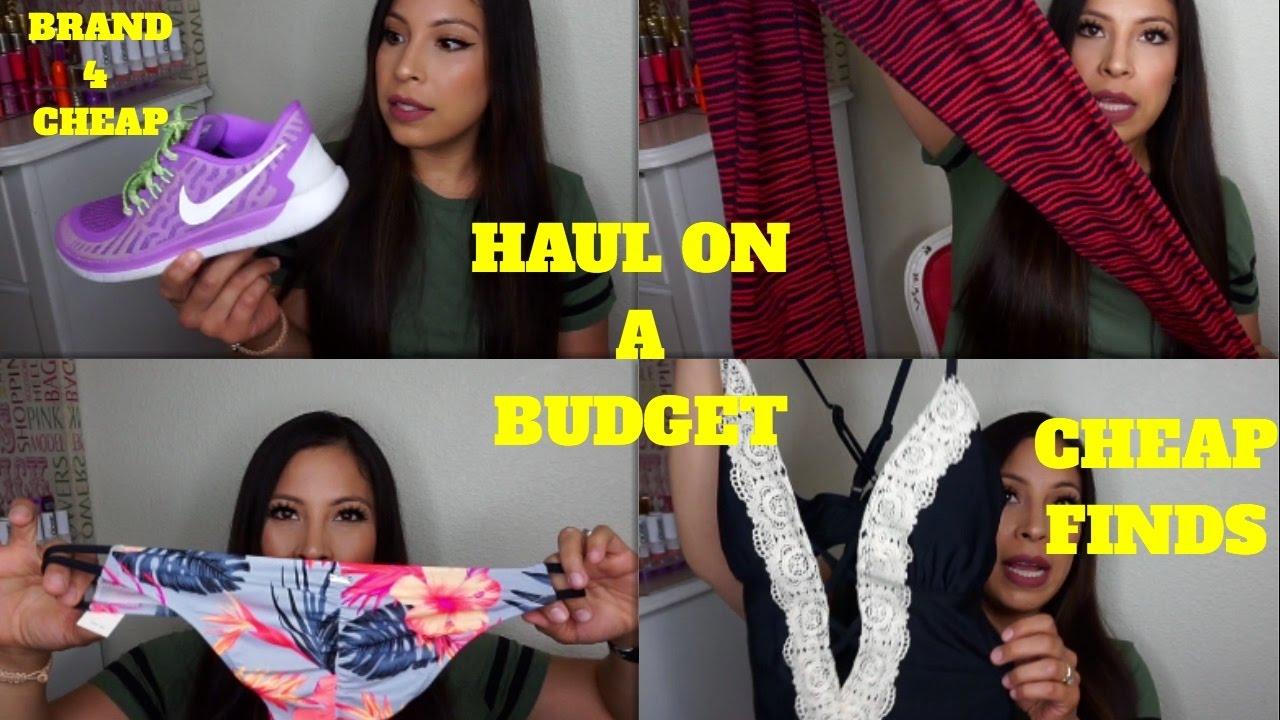 Haul Name Brand Clothing For Cheap Swimwear Shoes Gymwear Youtube
