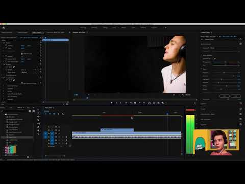 Editing, Colour, Lighting and Audio (Adobe Premiere Pro andAdobe Audition - Tutorial thumbnail
