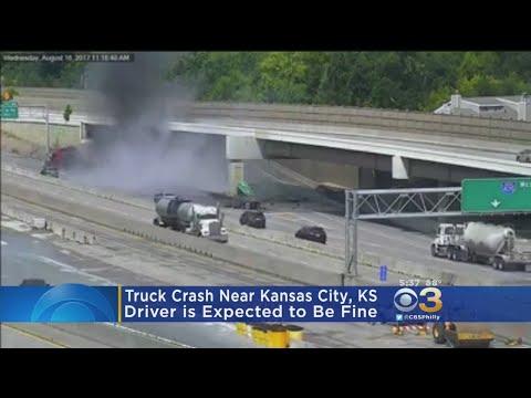 Major Truck Crash Near Kansas City, Kansas