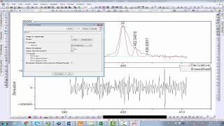 Baseline correction and Deconvolution of  Mutil Peaks Using Origin software