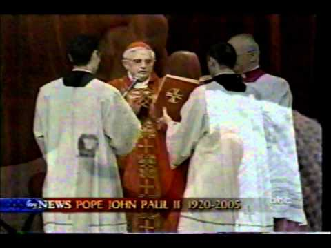 SAINT POPE JOHN PAUL II THE GREAT FUNERAL MASS PART 5 OF 16