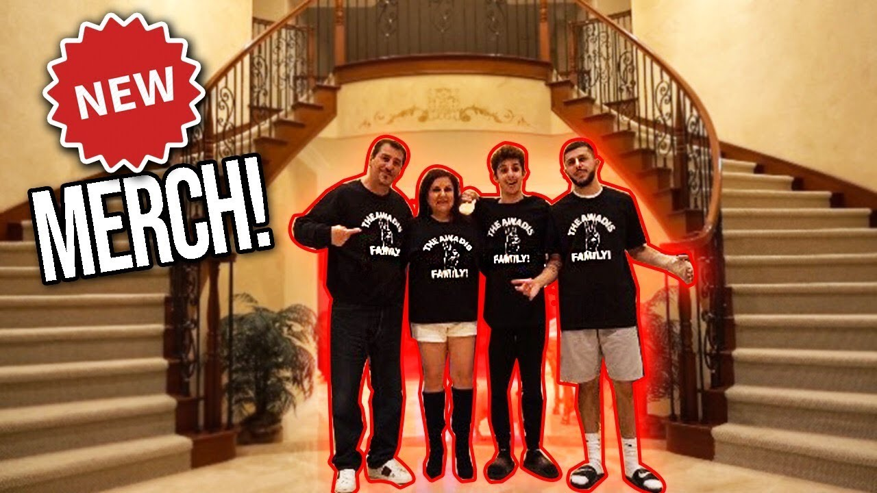 Faze Rug And Brawadis Modeling Our New Merch On Now Mama Papa