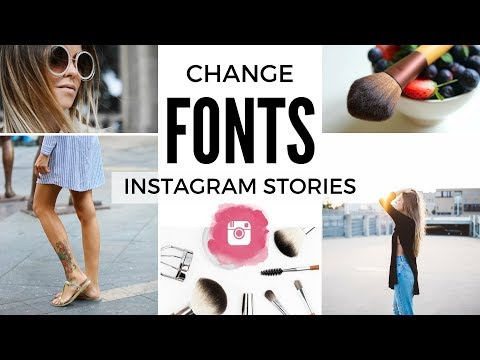 CHANGE FONT ON INSTAGRAM STORIES & BIO| INSTAGRAM HACKS 2017