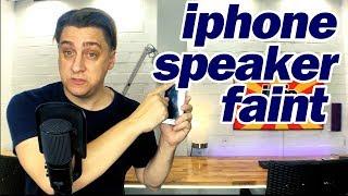 iPhone 6 6S Ear Speaker Faint/Low Sound