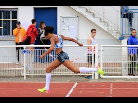 200 m CAF - Championnat régional Cadet/Junior, Montgeron, Juin 2017