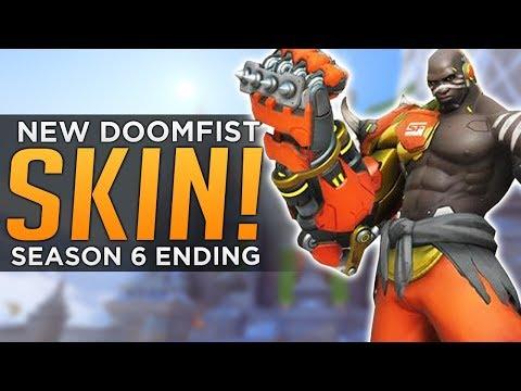 Overwatch: Season 6 ENDING! - NEW Doomfist SKIN!
