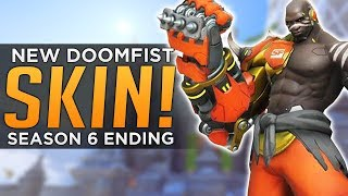 Overwatch: Season 6 ENDING! - NEW Doomfist SKIN!