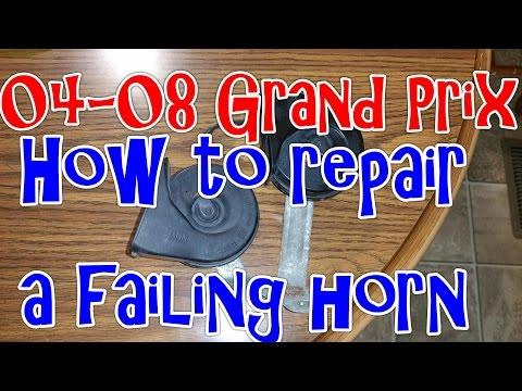 04-08 Pontiac Grand Prix – How to repair a failing horn