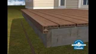 Composite Deck Building - E-trim Part 1