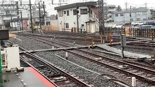 東京メトロ17000系 試運転 川越市駅