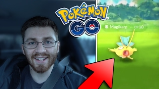 SHINY MAGIKARP GLITCHED?! Pokemon GO + Cops Again..!